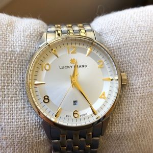 Lucky Brand Silver/Gold Watch